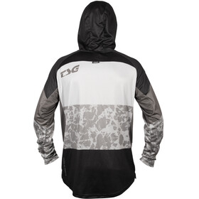 TSG BE4 Maglietta Jersey 3/4, nero/grigio